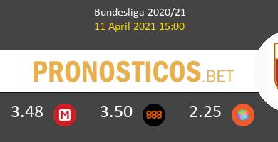 Schalke 04 vs FC Augsburgo Pronostico (11 Abr 2021) 3