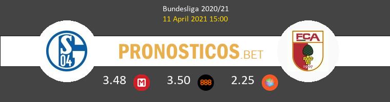 Schalke 04 vs FC Augsburgo Pronostico (11 Abr 2021) 1