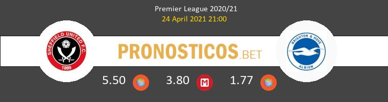 Sheffield United vs Brighton Hove Albion Pronostico (24 Abr 2021) 1