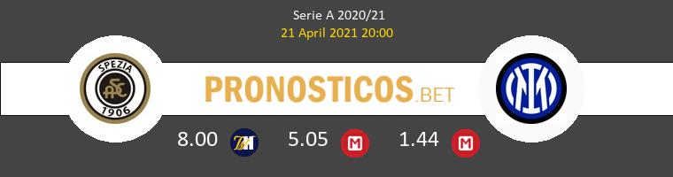 Spezia vs Inter Pronostico (21 Abr 2021) 1