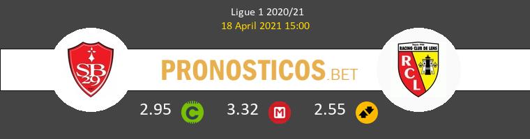 Stade Brestois vs Lens Pronostico (18 Abr 2021) 1