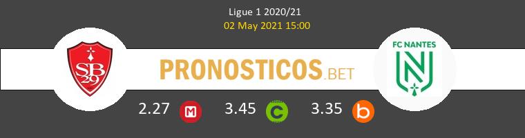 Stade Brestois vs Nantes Pronostico (2 May 2021) 1
