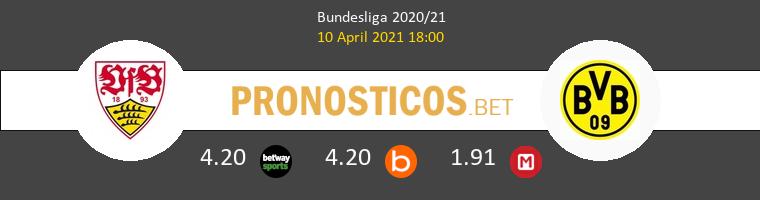 Stuttgart vs Dortmund Pronostico (10 Abr 2021) 1