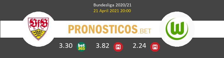 Stuttgart vs Wolfsburgo Pronostico (21 Abr 2021) 1