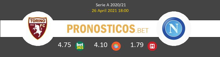 Torino vs Nápoles Pronostico (26 Abr 2021) 1