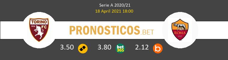 Torino vs Roma Pronostico (18 Abr 2021) 1