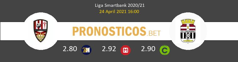 UD Logroñés vs F.C. Cartagena Pronostico (24 Abr 2021) 1