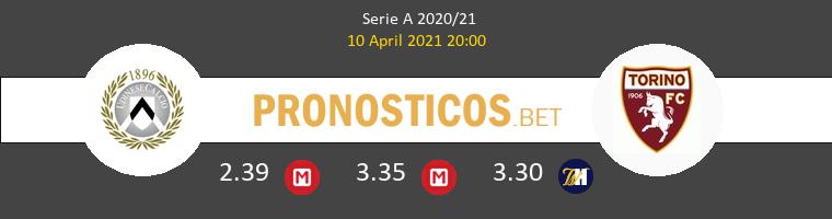 Udinese vs Torino Pronostico (10 Abr 2021) 1
