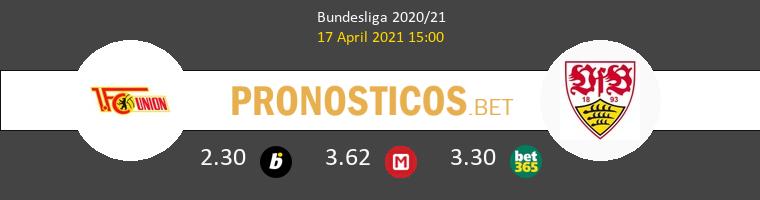 Union Berlin vs Stuttgart Pronostico (17 Abr 2021) 1