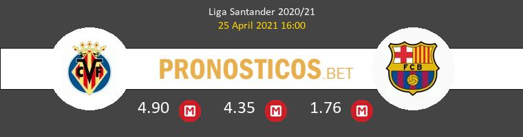 Villarreal vs Barcelona Pronostico (25 Abr 2021) 1