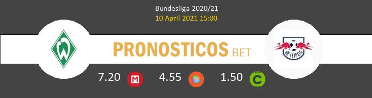 Werder Bremen vs Red Bull Leipzig Pronostico (10 Abr 2021) 1