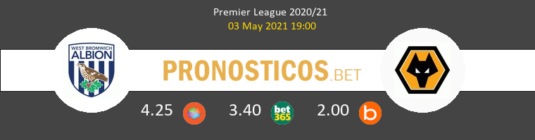West Bromwich Albion vs Wolves Pronostico (3 May 2021) 1