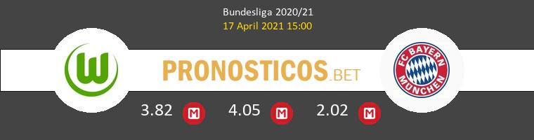 Wolfsburgo vs Bayern Munchen Pronostico (17 Abr 2021) 1