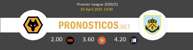 Wolverhampton Wanderers vs Burnley Pronostico (25 Abr 2021) 1