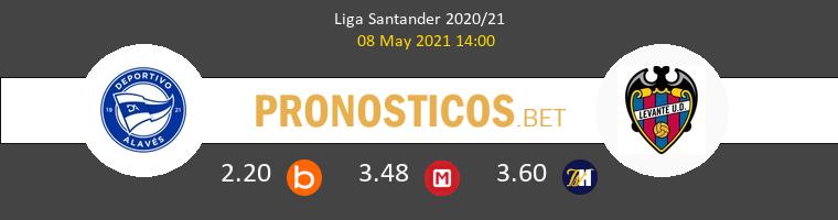 Alavés vs Levante Pronostico (8 May 2021) 1