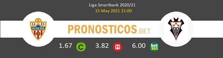 Almería vs Albacete Pronostico (15 May 2021) 1