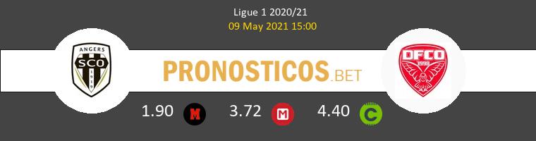 Angers SCO vs Dijon FCO Pronostico (9 May 2021) 1