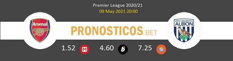 Arsenal vs West Bromwich Albion Pronostico (9 May 2021) 1