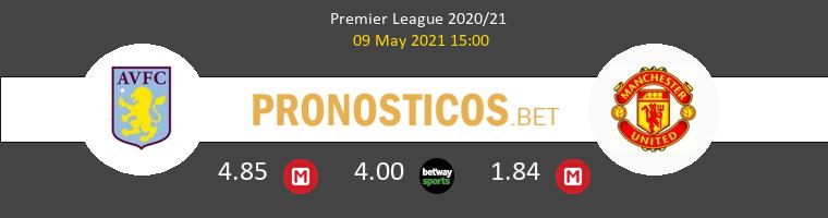Aston Villa vs Manchester United Pronostico (9 May 2021) 1