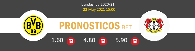 Borussia Dortmund vs Leverkusen Pronostico (22 May 2021) 1