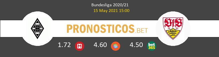 B. Mönchengladbach vs Stuttgart Pronostico (15 May 2021) 1