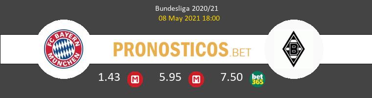 Bayern vs B. Mönchengladbach Pronostico (8 May 2021) 1