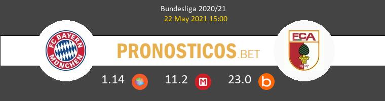 Bayern Munchen vs FC Augsburg Pronostico (22 May 2021) 1