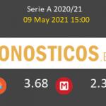 Benevento vs Cagliari Pronostico (9 May 2021) 4