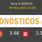 Benevento vs Cagliari Pronostico (9 May 2021) 4