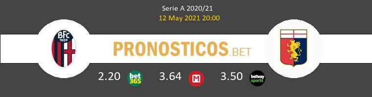 Bologna vs Génova Pronostico (12 May 2021) 1