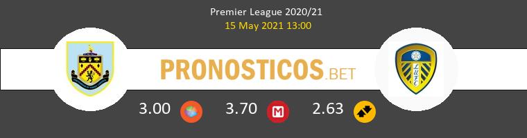 Burnley vs Leeds United Pronostico (15 May 2021) 1