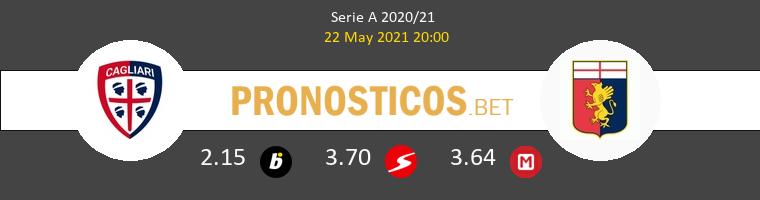 Cagliari vs Génova Pronostico (22 May 2021) 1