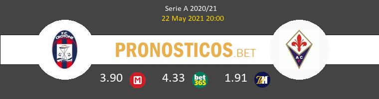 Crotone vs Fiorentina Pronostico (22 May 2021) 1