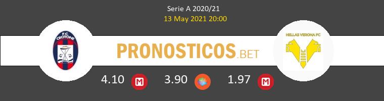 Crotone vs Hellas Verona Pronostico (13 May 2021) 1