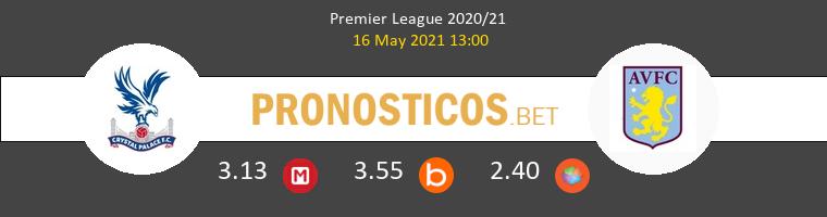 Crystal Palace vs Aston Villa Pronostico (16 May 2021) 1