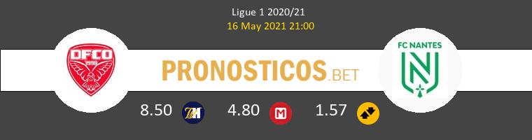 Dijon FCO vs Nantes Pronostico (16 May 2021) 1