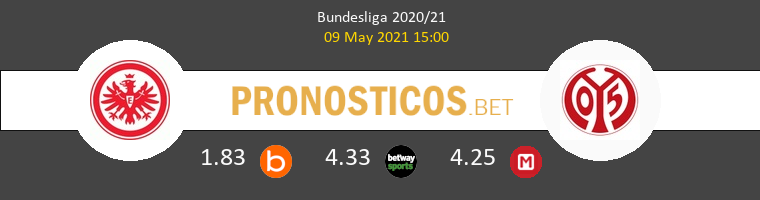 Eintracht Frankfurt vs Mainz 05 Pronostico (9 May 2021) 1