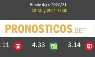 Eintracht Frankfurt vs SC Freiburg Pronostico (22 May 2021) 2