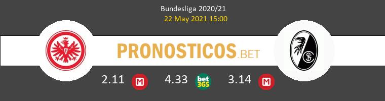 Eintracht Frankfurt vs SC Freiburg Pronostico (22 May 2021) 1