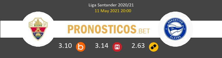 Elche vs Alavés Pronostico (11 May 2021) 1