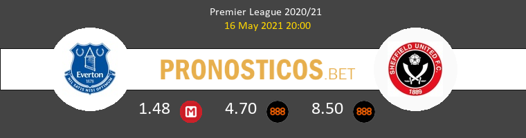 Everton vs Sheffield United Pronostico (16 May 2021) 1