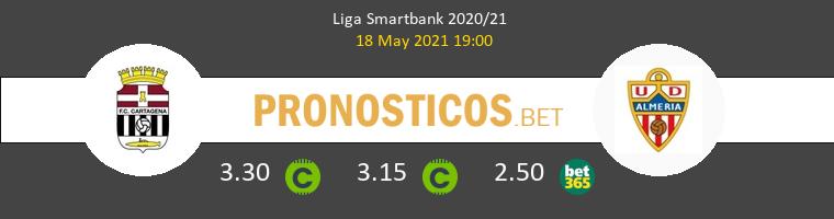 F.C. Cartagena vs Almería Pronostico (18 May 2021) 1