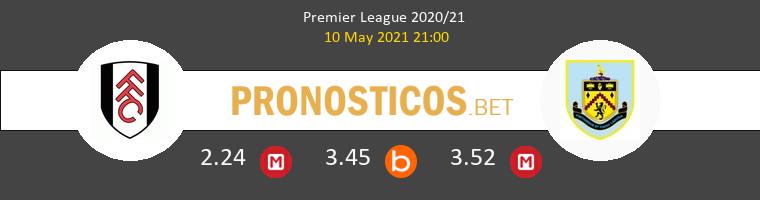 Fulham vs Burnley Pronostico (10 May 2021) 1