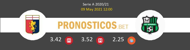 Génova vs Sassuolo Pronostico (9 May 2021) 1