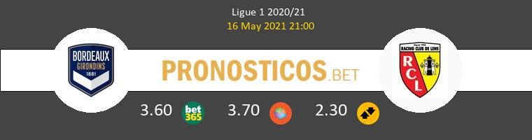 Girondins Bordeaux vs Lens Pronostico (16 May 2021) 1