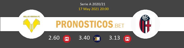 Hellas Verona vs Bologna Pronostico (17 May 2021) 1