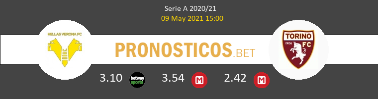 Hellas Verona vs Torino Pronostico (9 May 2021) 1