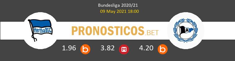 Hertha BSC vs Arminia Bielefeld Pronostico (9 May 2021) 1
