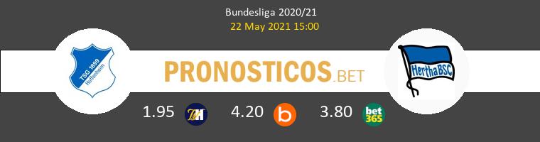 Hoffenheim vs Hertha Berlin Pronostico (22 May 2021) 1