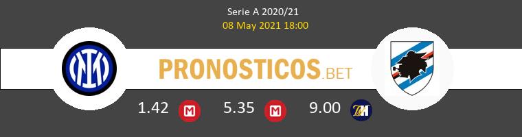 Inter vs Sampdoria Pronostico (8 May 2021) 1
